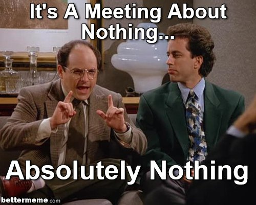 nothingmeeting
