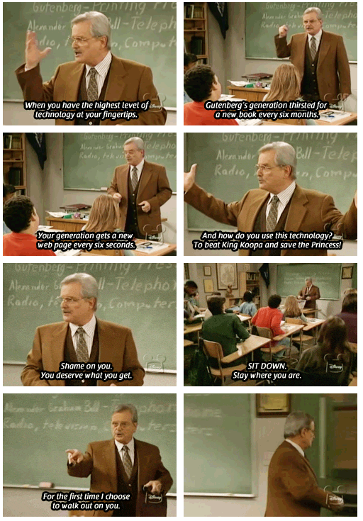Mr.-Feeny-Handing-Out-Life-Lessons-In-Class-Boy-Meets-World